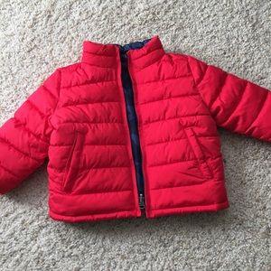 GAP Factory Reversible Puffer Jacket